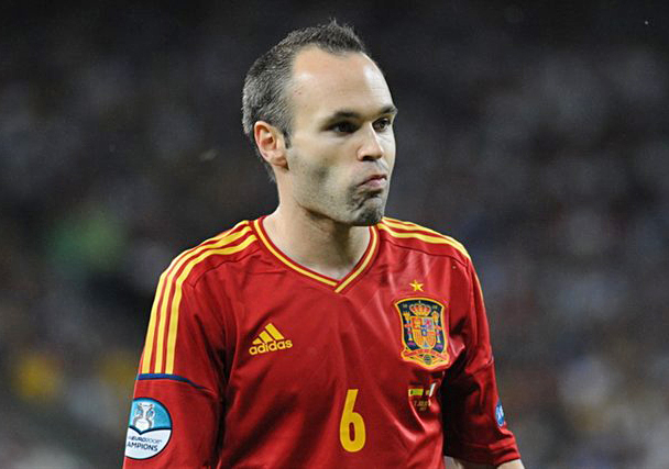 Iniesta's international career has almost come to an end as Italy beat Spain