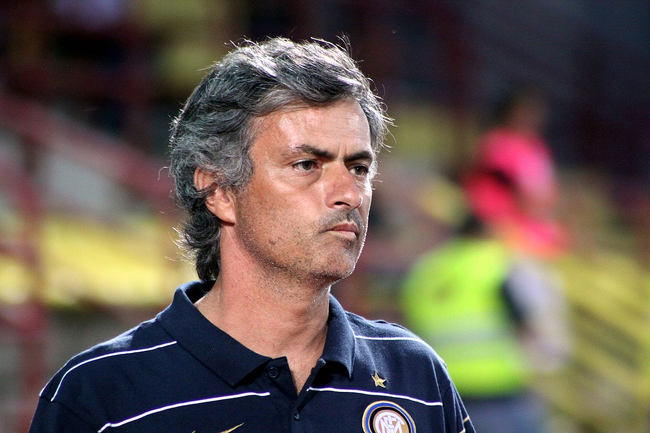 Mourinho is notorious for changing clubs frequently