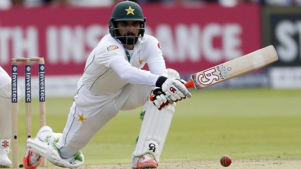 Misbah ul Haq has his name on the lord's board Source: asia.eurosport.com