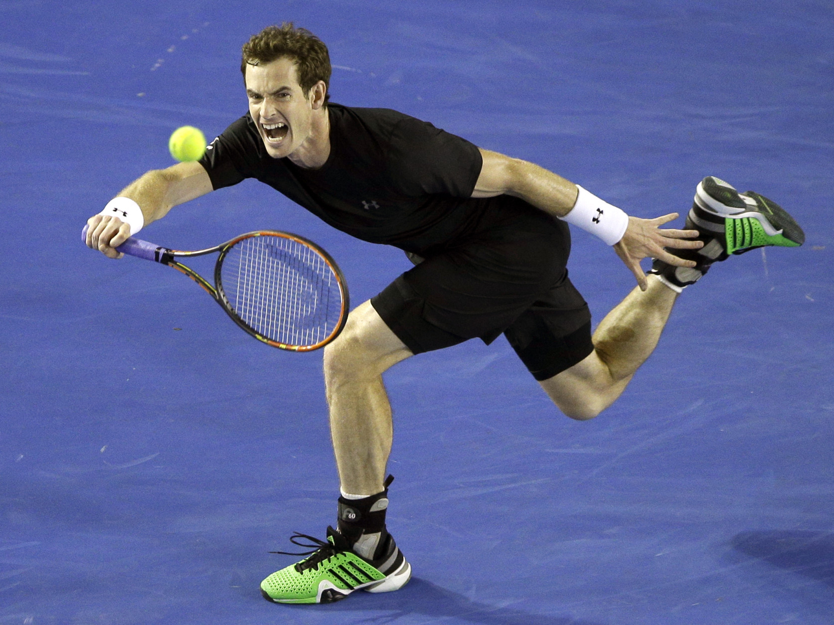 Andy Murray against serve-volley