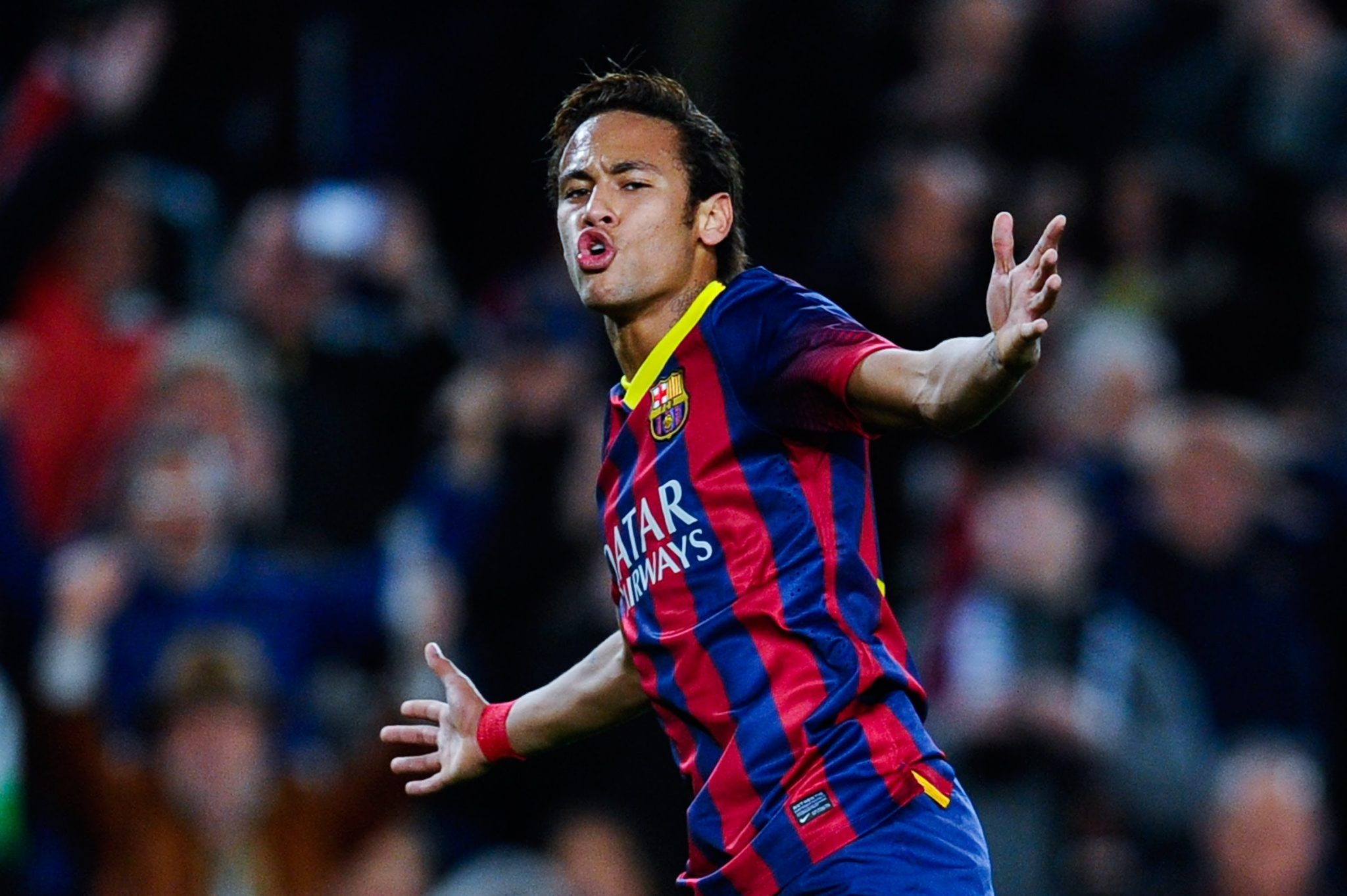 Neymar has fitted really well in the Barcelona side