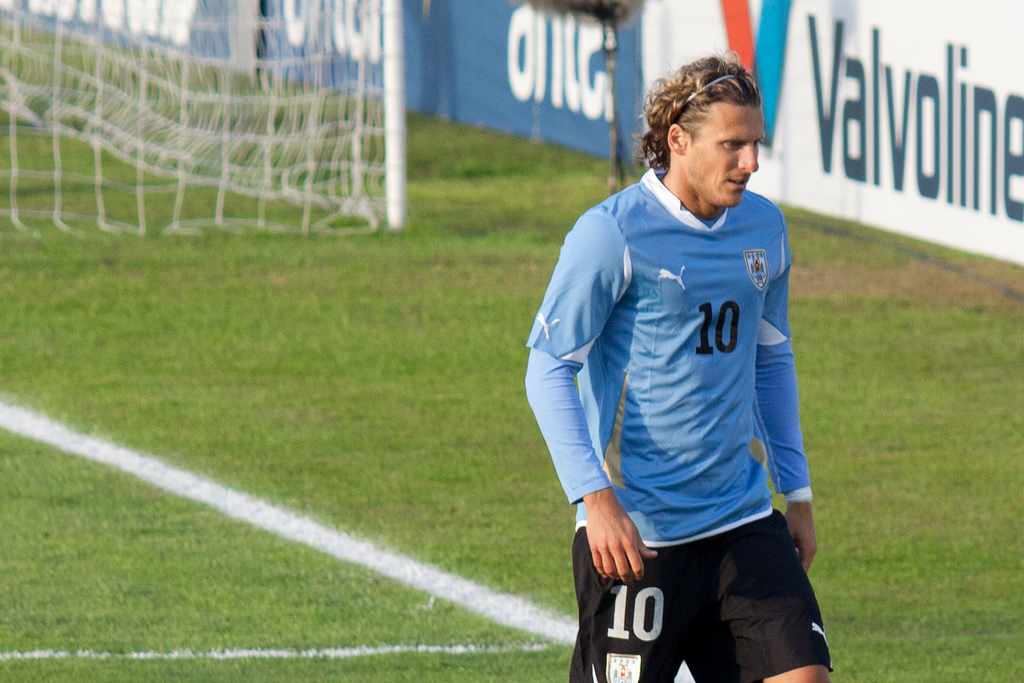 Diego Forlan, a proven leader