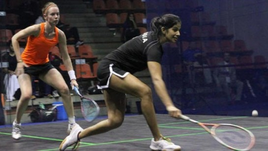 Playing for 9th-12th placings, India Squash team made short work of The Netherlands 3-0 in the opening round robin match.
