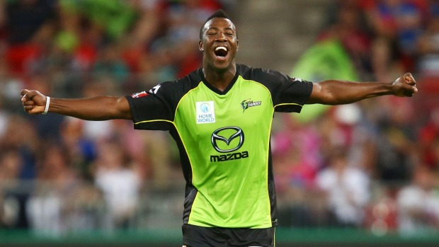 Globetrotting West Indian all-rounder Andre Russell has been banned from all cricket for a year over a doping code violation