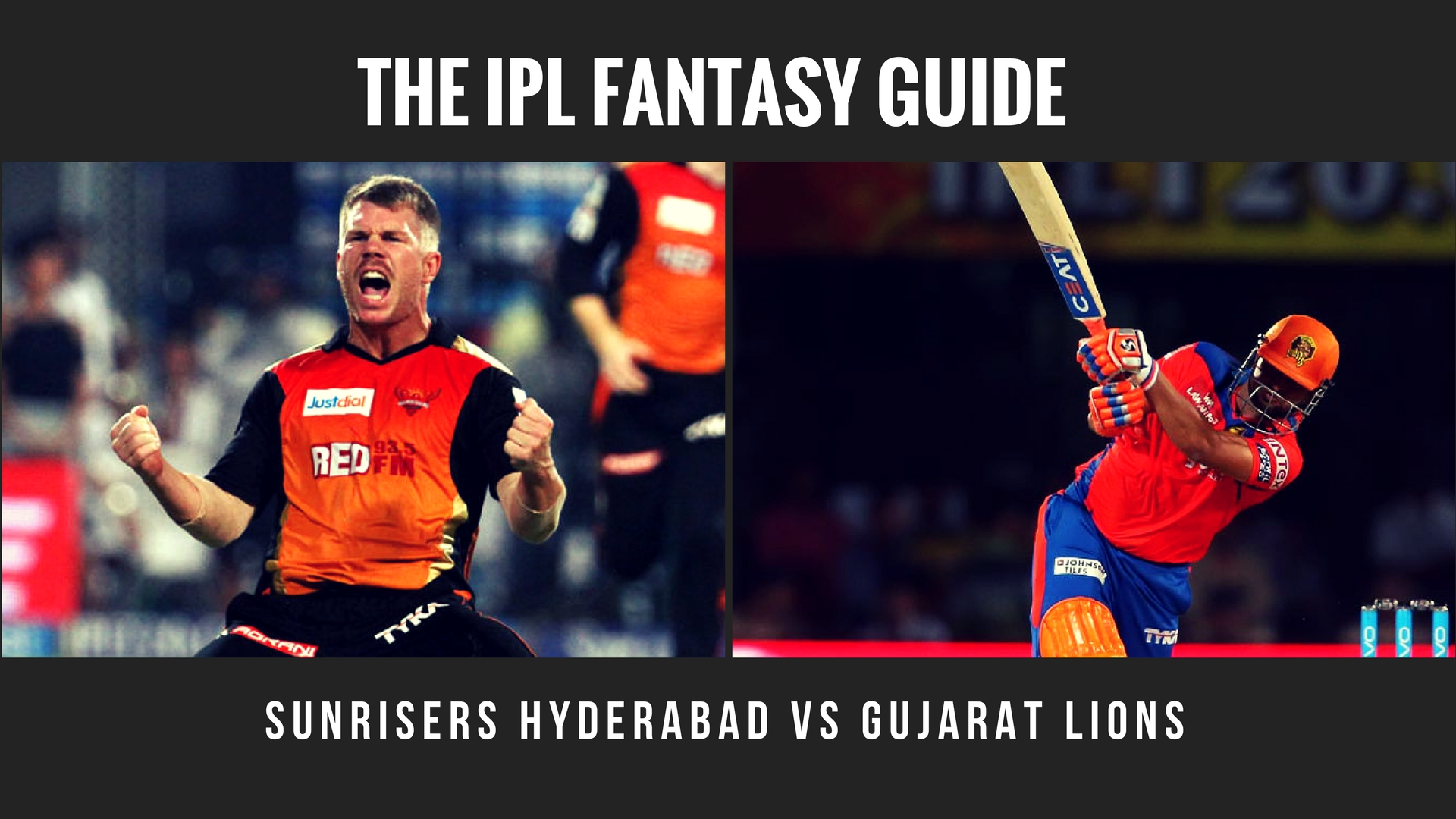 Fantasy tips for Sunrisers Hyderabad vs Gujarat Lions