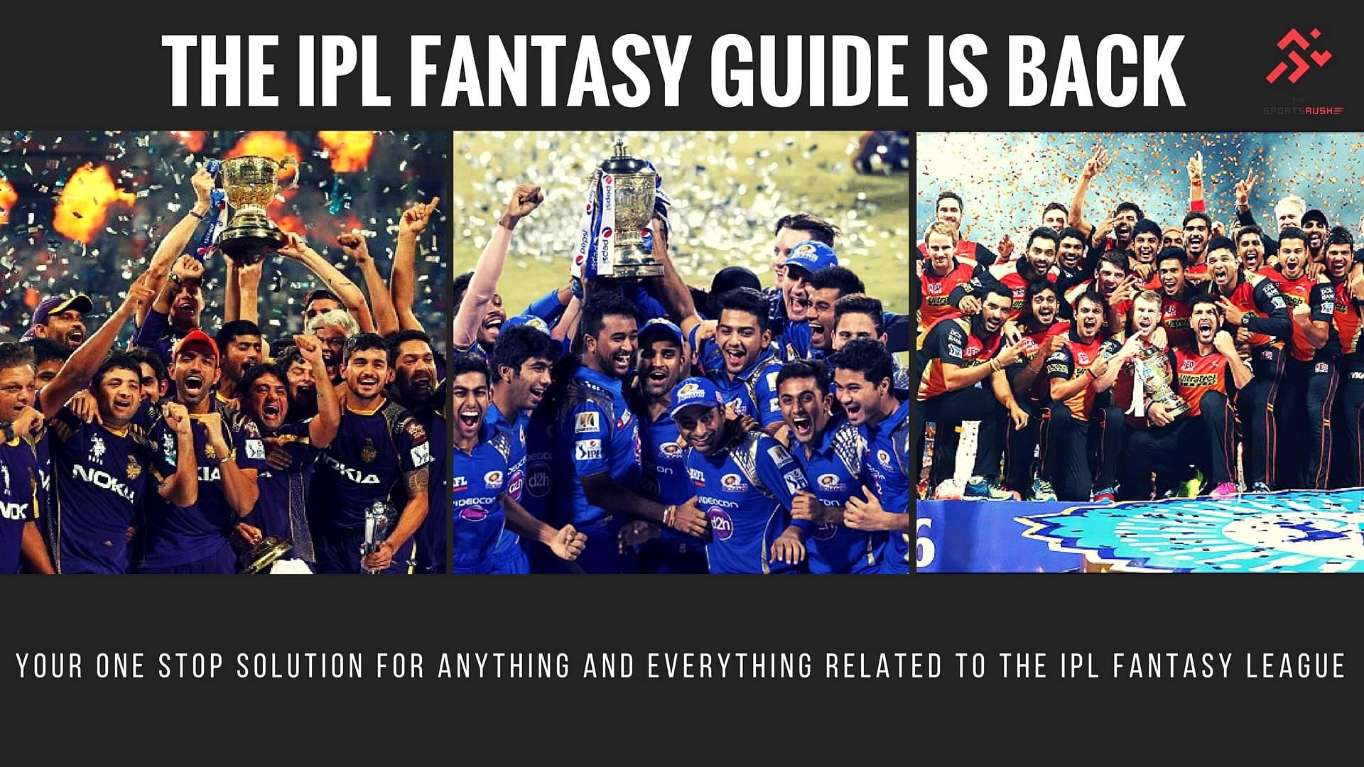 IPL Fantasy Guide