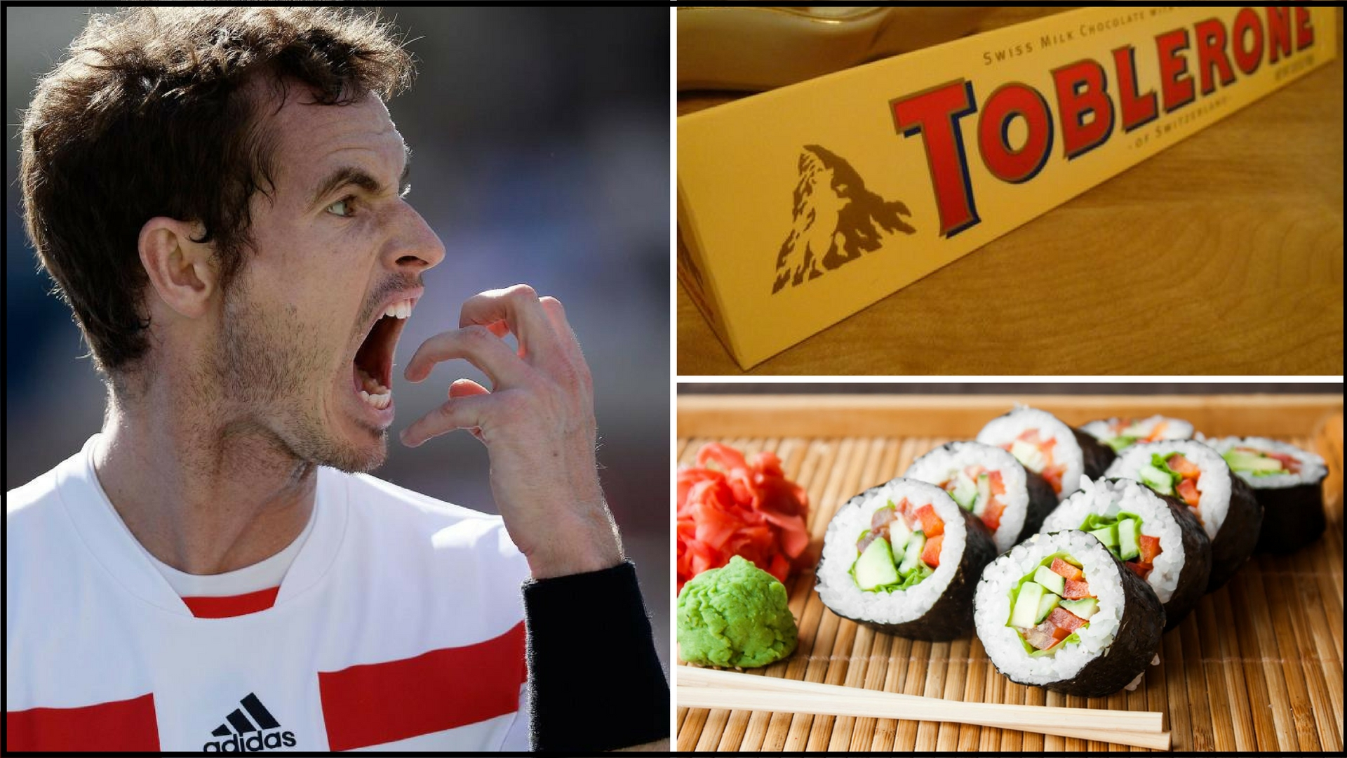 Estoril organisers use Toblerone and Sushi as a bait to lure Murray to Portugal