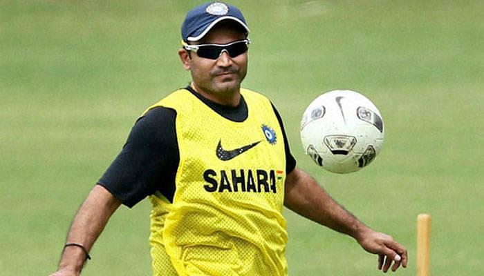 Sehwag congratulates the U-17 Indian Football Team