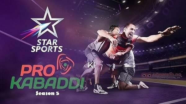 Pro Kabaddi League Season 5 Source: Sportsmanch.com