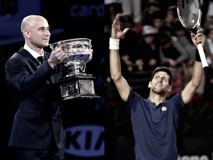 Novak Djokovic hopes that Andre Agassi Source: Vavel.com