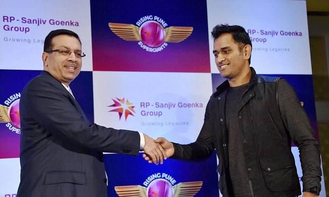 Sanjeev Goenka takes a huge dig at MS Dhoni