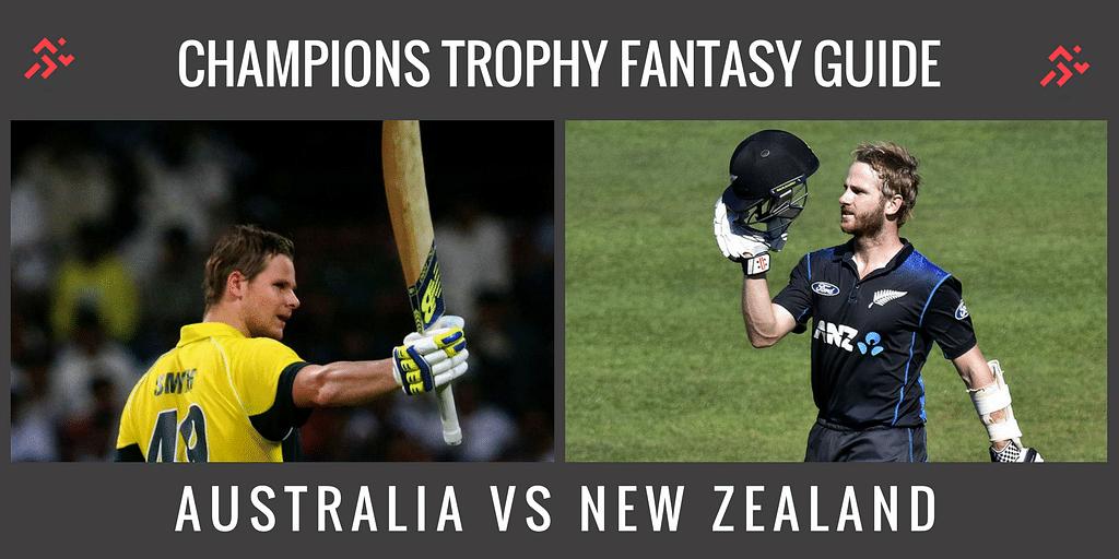 Fantasy Guide for Australia vs New Zealand