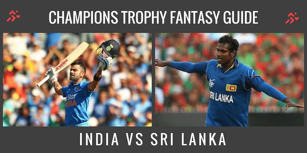 Fantasy Guide for India vs Sri Lanka