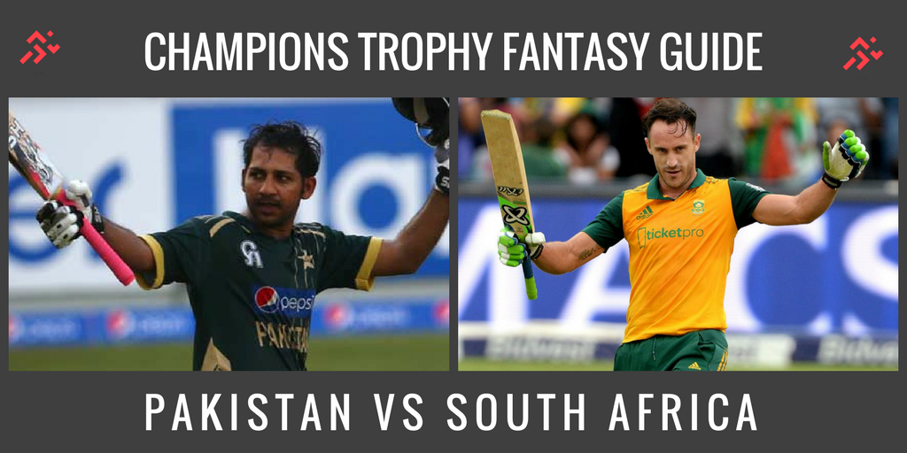 Fantasy Guide for Pakistan vs South Africa