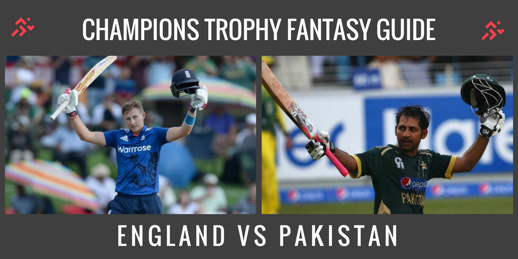Fantasy Guide for England vs Pakistan