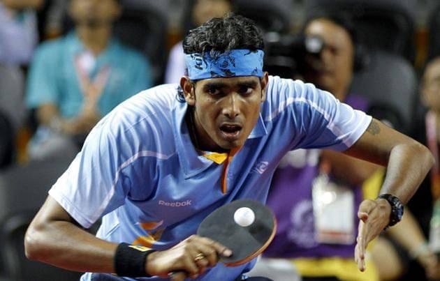 Sharath Kamal's loss Source: SportsKeeda