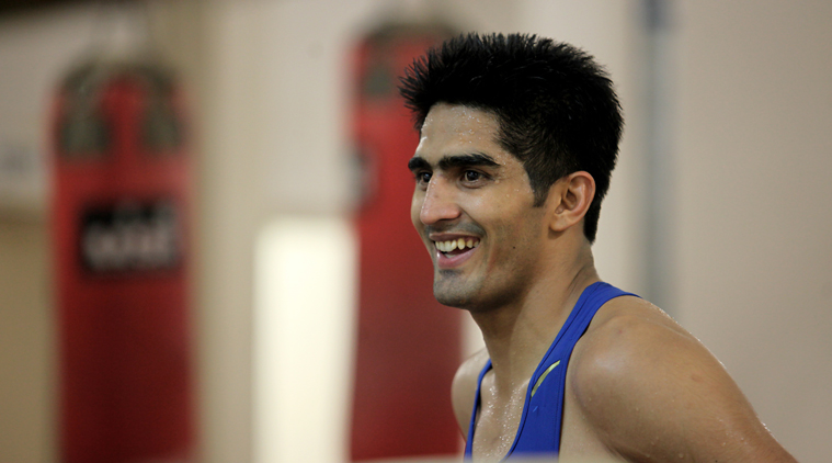 Vijender Singh sends out a warning to Zulpikar