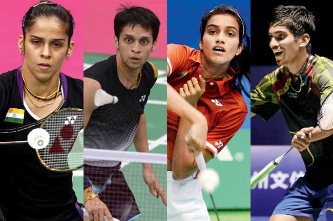 Indian Shuttlers Source: Mid Day