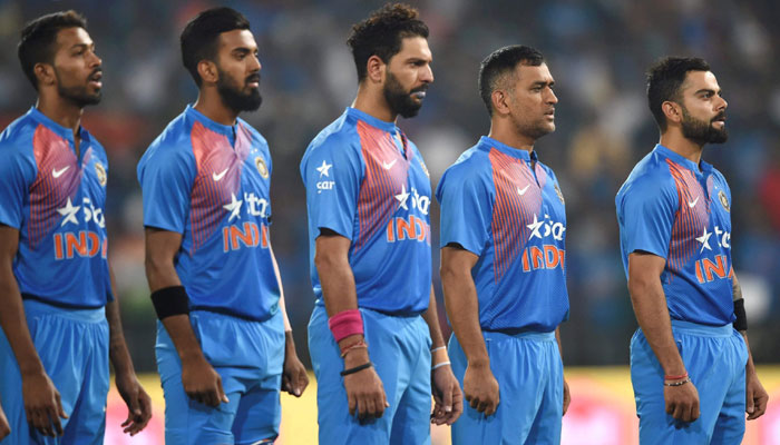 Indian T20 squad for England
