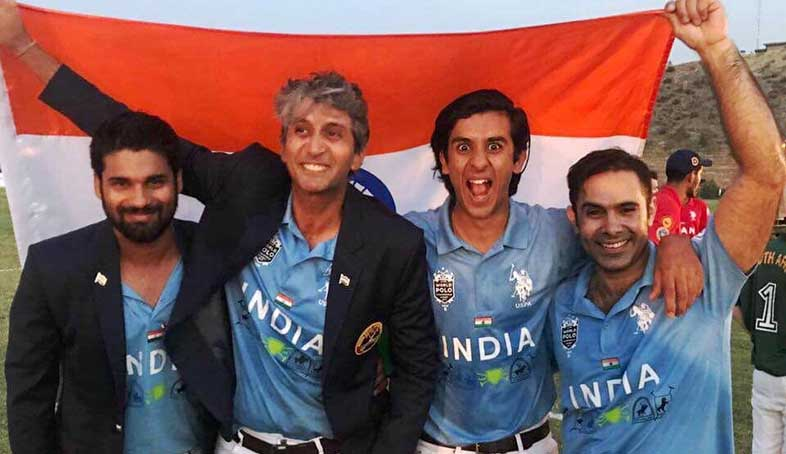 Indian Polo Team Source: PinkCity Post