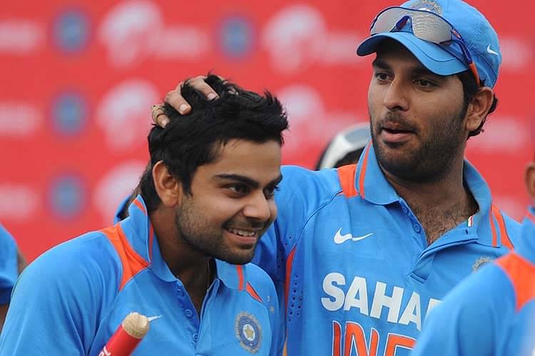 Yuvraj Singh's pep talk transformed Virat Kohli into a Beast | The  SportsRush