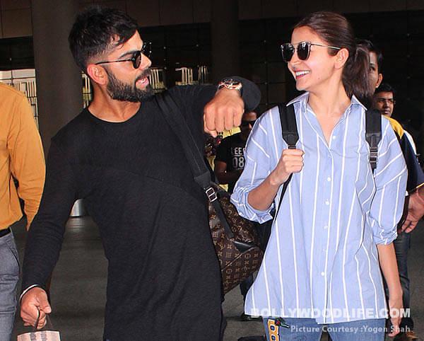 Virat Kohli and Anushka Sharma Credits: Bollywood Life