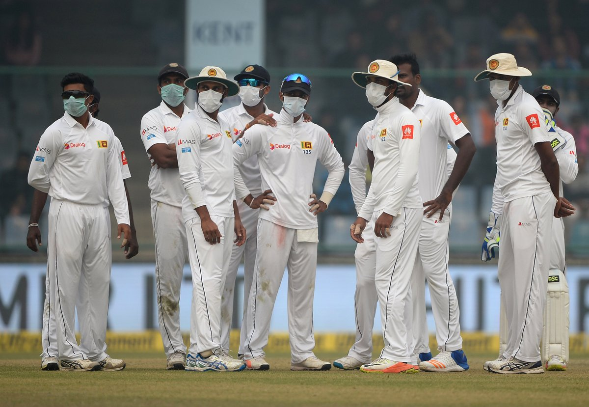 Sri Lanka accused of ball tampering, players deny claims