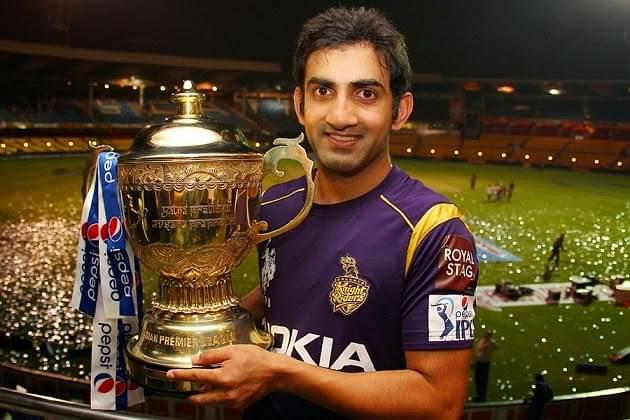 Gautam Gambhir source : sportswiki.com