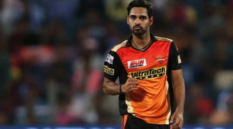 Bhuvneshwar Kumar ruled out of SRH's game against MI