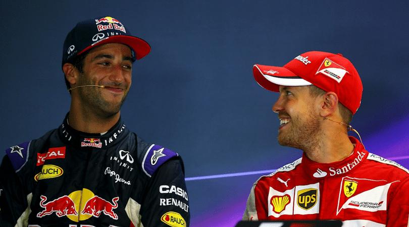 "Ferrari F1 News: Former Red Bull teammate Daniel Ricciardo calls Sebastian Vettel ""German Efficiency"", confident he will bounce back"