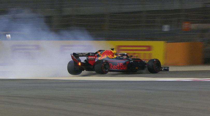 Verstappen's crash