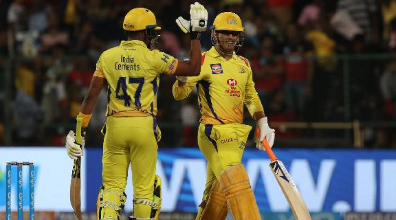 CSK's probable playing XI against DD at Delhi