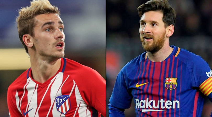 Griezmann and Messi