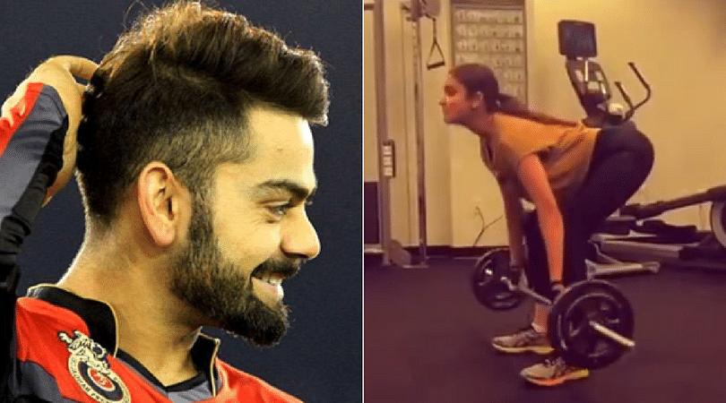 Wife Anushka Sharma accepts Virat Kohli's HumFitTohIndiaFit challenge