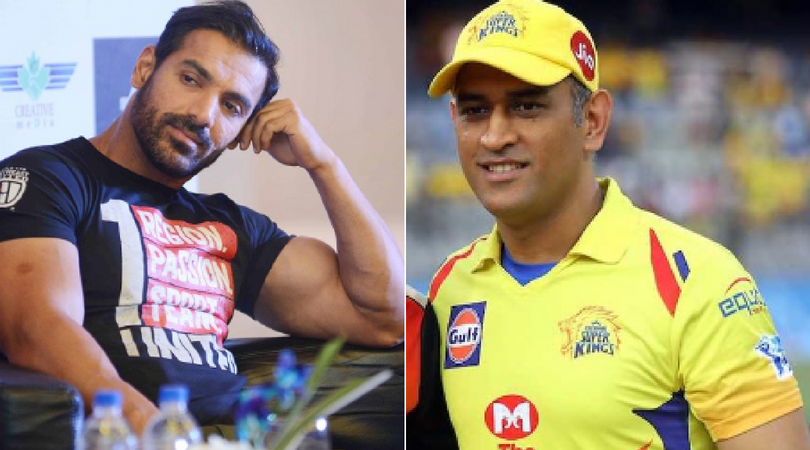 Watch: How Dhoni met John Abraham for the first time