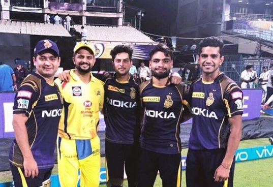 Suresh Raina comes up with a wonderful tweet after CSK's defeat to KKR