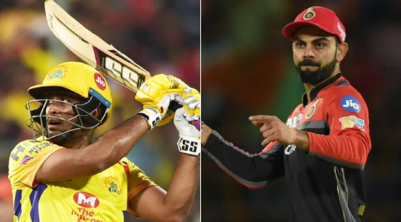 Watch: Ambati Rayudu discloses why he takes a bat from Virat Kohli every year