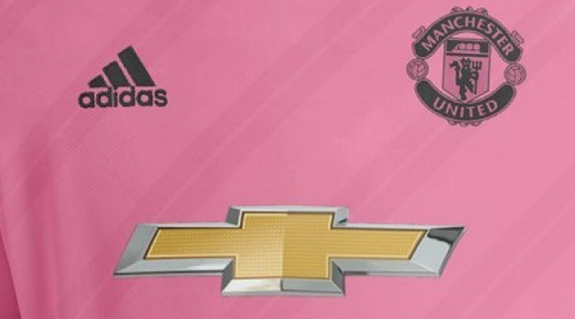 manchester united pink kit
