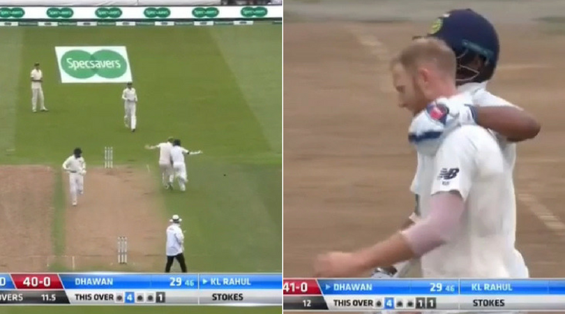 Stokes and Dhawan collide