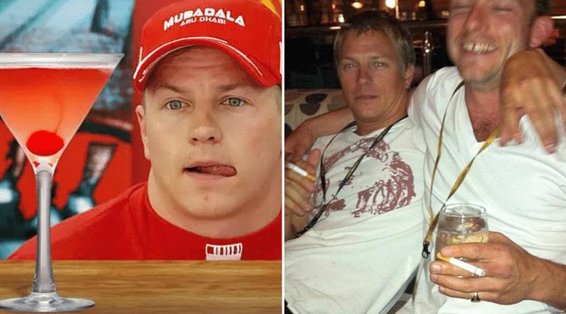 Raikkonen exposes 16 day drinking bender