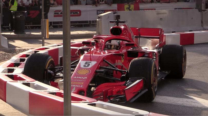 Vettel gives Raikkonen related reason for Milan demo crash