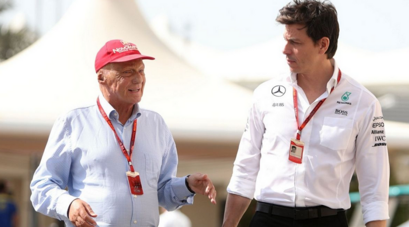 Toto Wolff's emotional statement for the ailing Niki Lauda