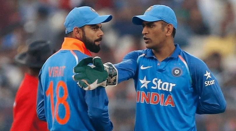 MS Dhoni praises Virat Kohli's captaincy