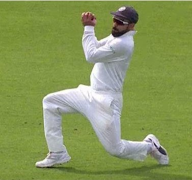 Kohli's catch to dismiss Buttler