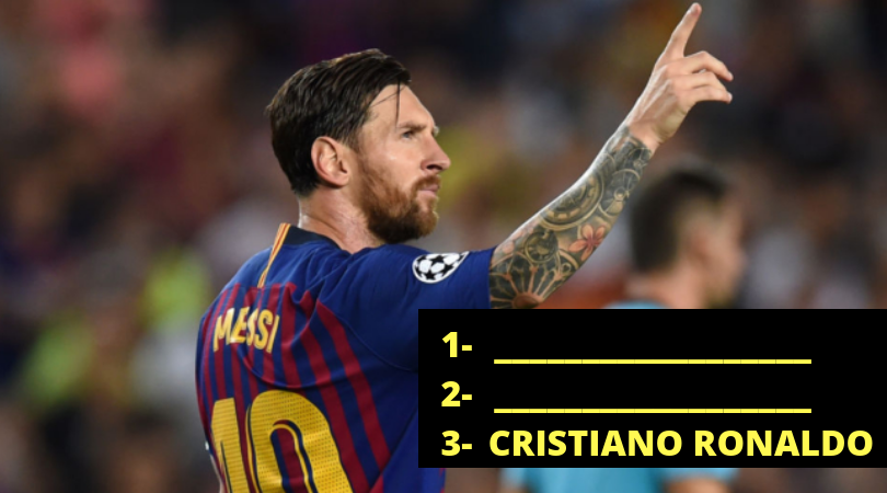 ho did Messi vote for in FIFA The Best awards