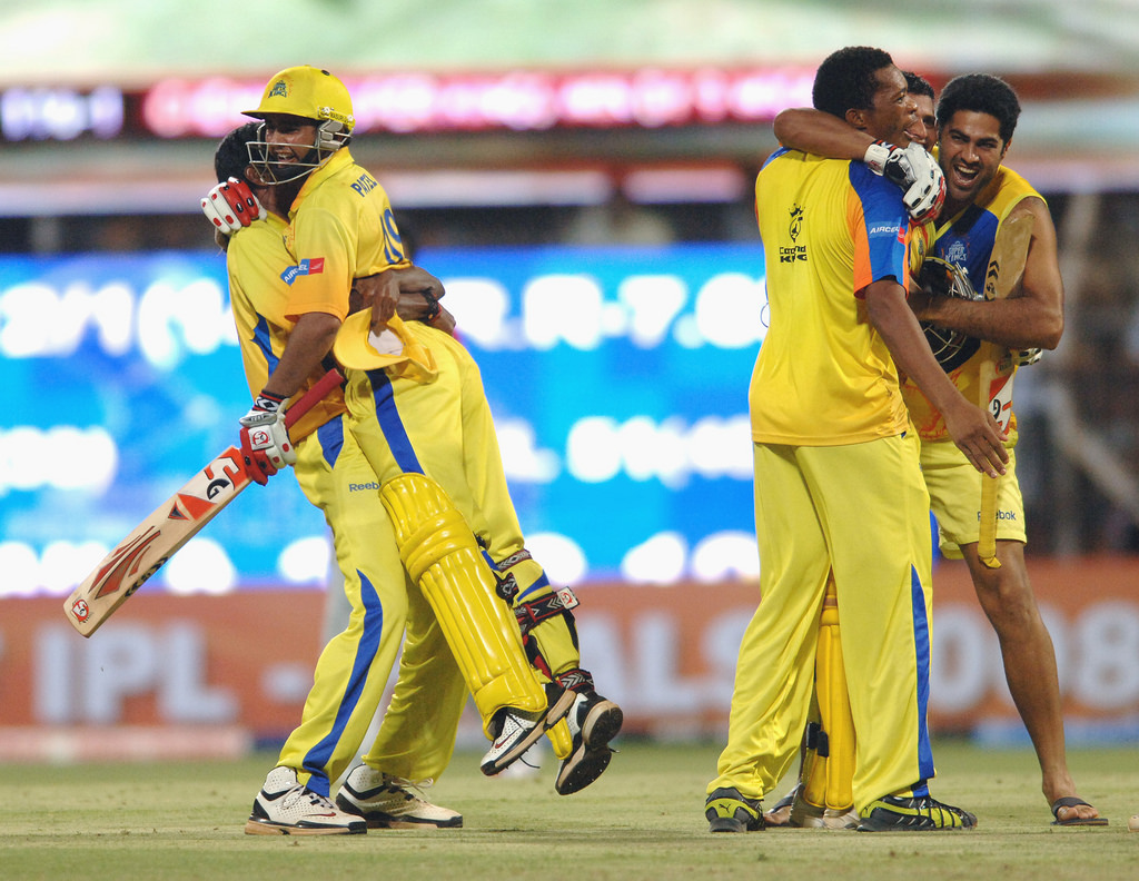 Chennai Super Kings' series of tweets on India's thrilling win
