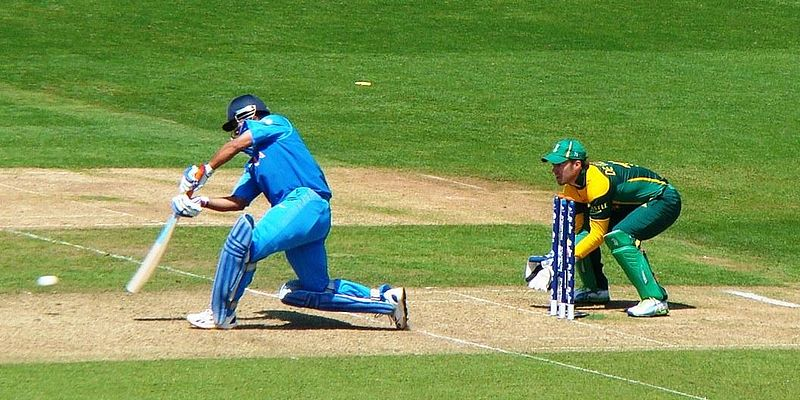 MS Dhoni given wrongly out against Afghanistan