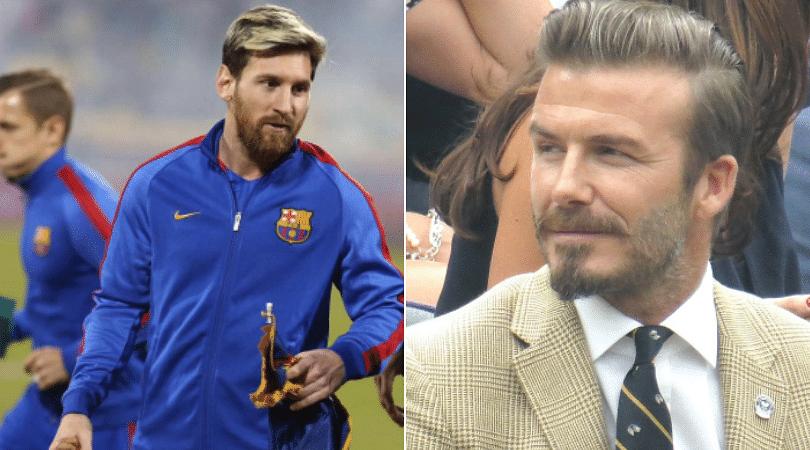 David Beckham to sign Lionel Messi
