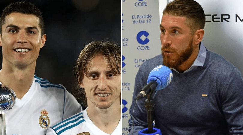 Ramos on Modric winning UEFA Best Award