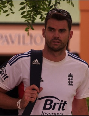 James Anderson fined